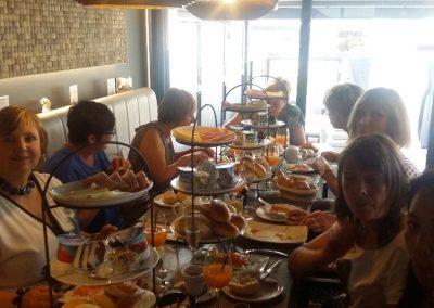 gezellig tafelen